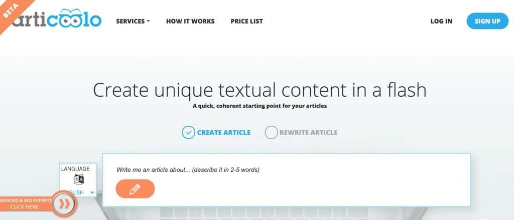Best AI Writing Software - Articoolo